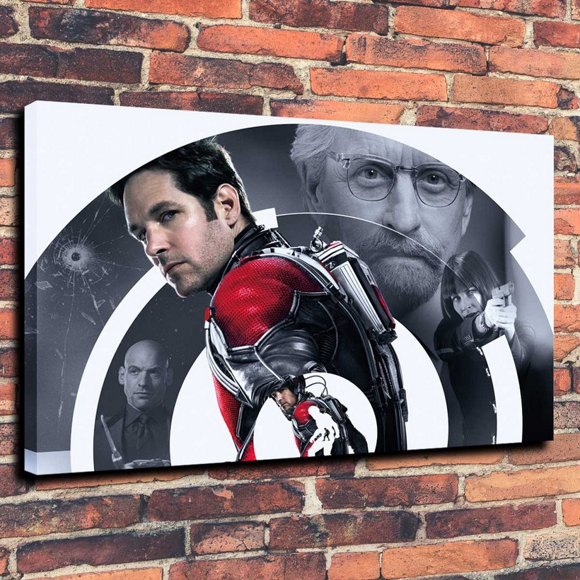Canvas Prints Wall Art Decorative Painting Western Home Decor Which Chelovek Muravey Ant Man( No Framed )