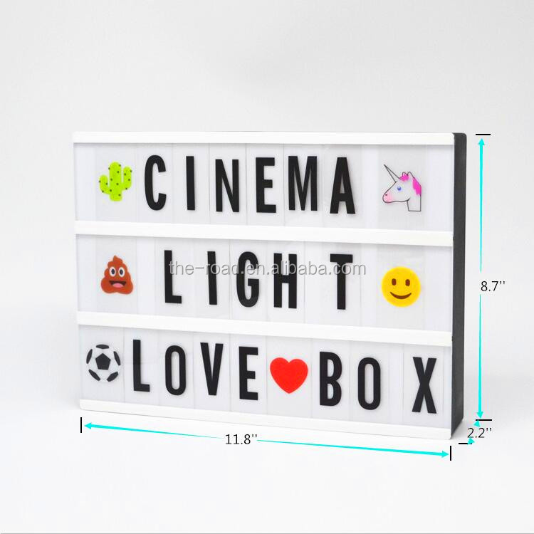A4 Größe Led Leuchten Leuchtturm A5 Kino Buchstaben Licht Box ...