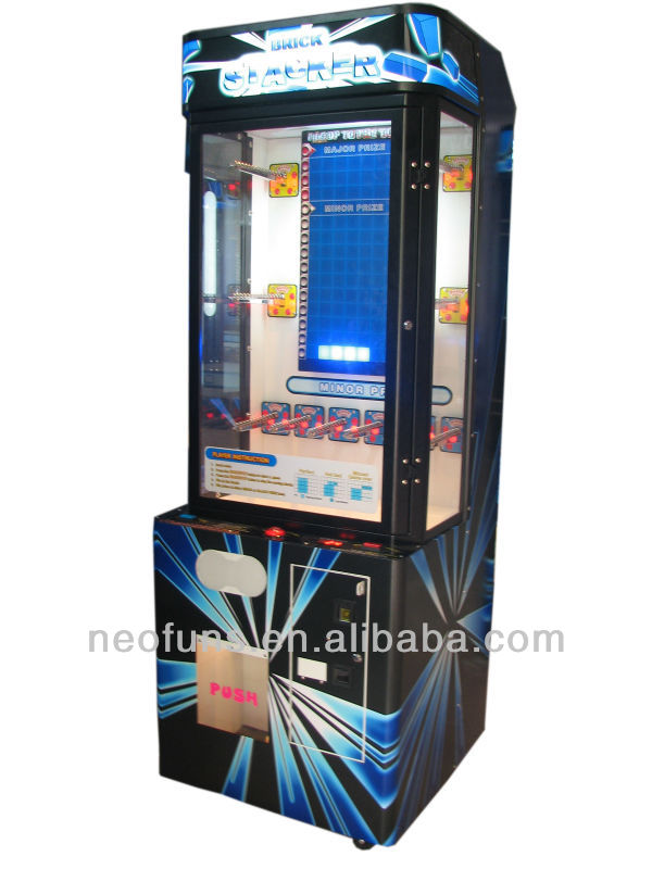 NF-P03 Folding box stacker game for sale ,stacker game machine