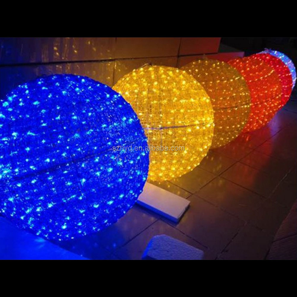 Hanging Outdoor Christmas Lights Youtube: Wedding Decoration Light Ball Decorating Christmas Big