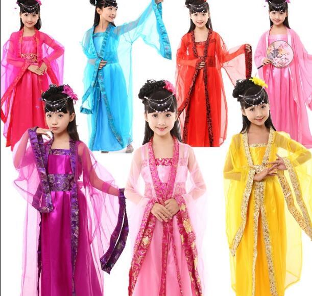 Popular Children Chinese Costumes Kids Buy Cheap Children