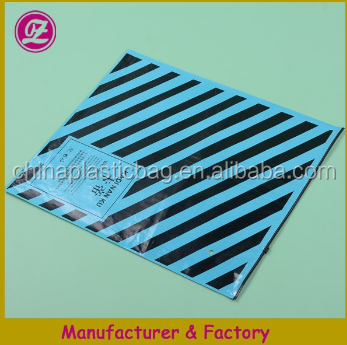 pvc plastic zipper bags with black line from p[lastic bag manufacturer 2015