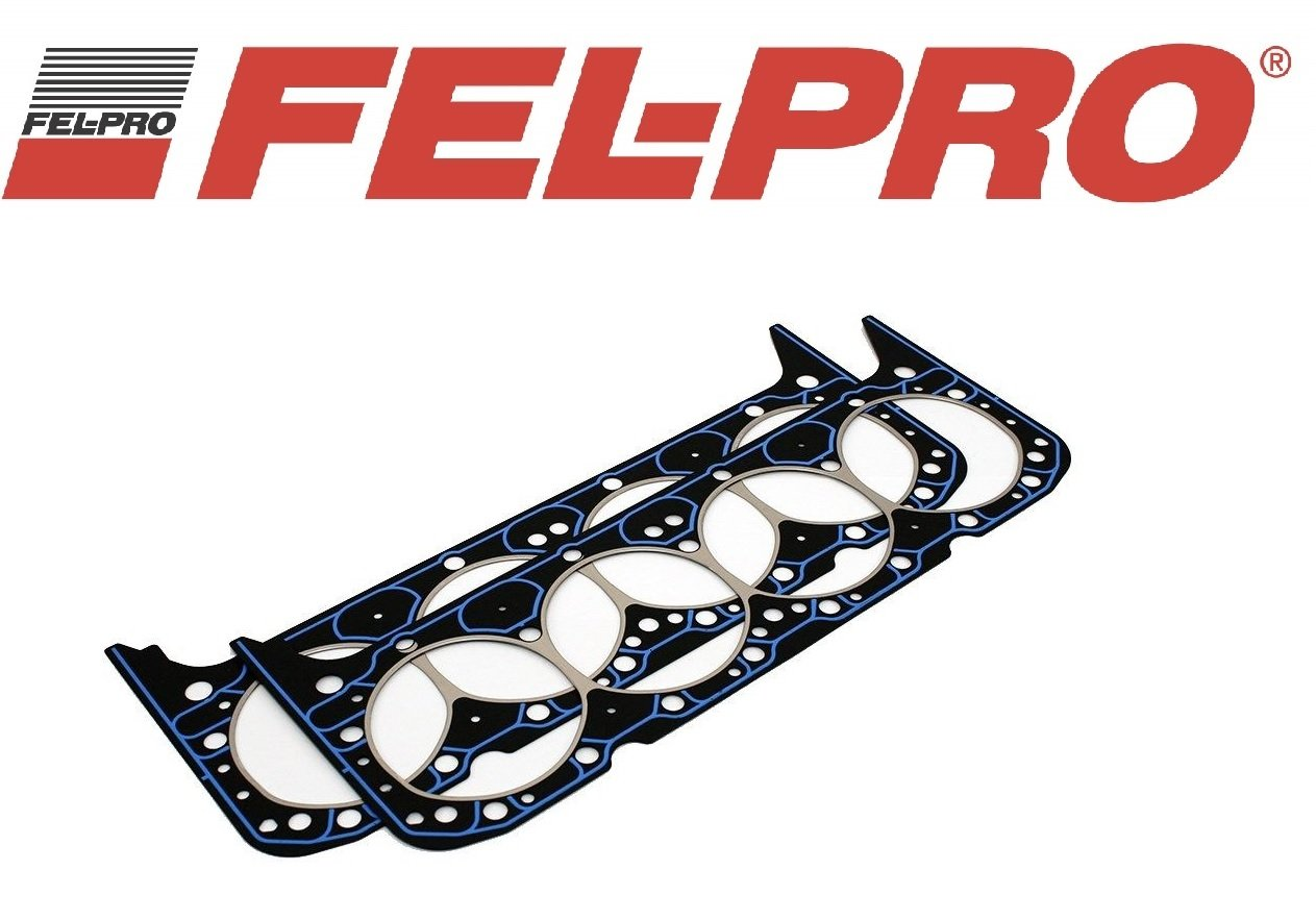 1 Pair Fel Pro 1003 Small Block Chevy SBC Performance Head Gaskets 327 350 383 ((2) Head Gskts)