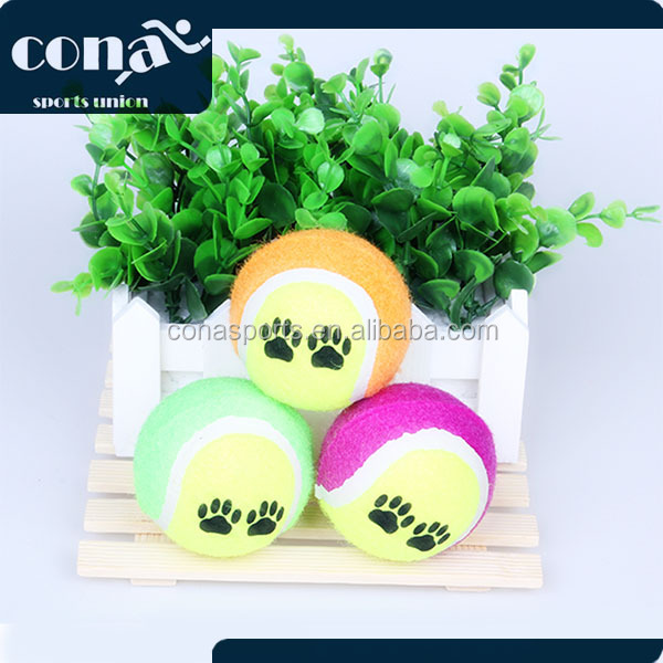 Pet Prod Tennis Fetch Ball with Promotional Price Bulk tennis ball