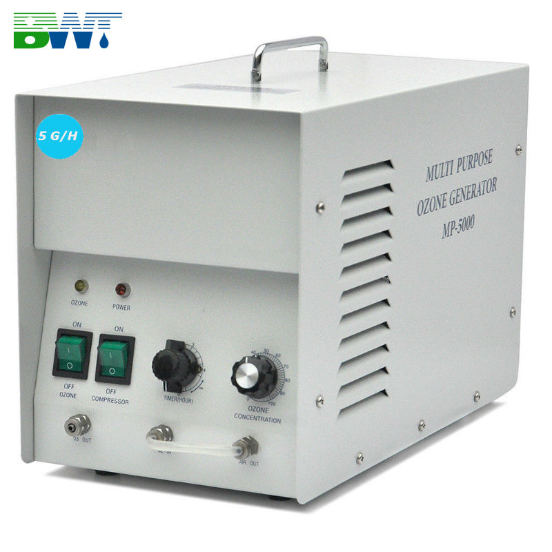 Water ionizer 5 G/H ozone generator use in spa and bath