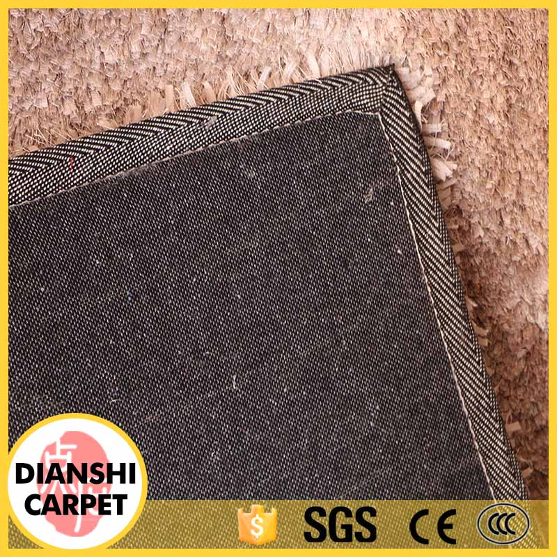 Thin Outdoor Rubber Backing Shaggy Floor Carpet Door Mat