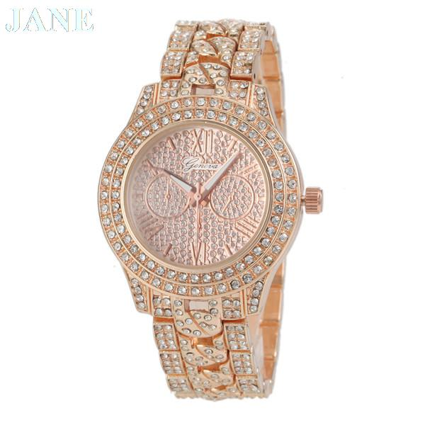 aa7d1fc77 Get Quotations · 2015 New Rome Digital Watch Rhinestone Top Brands Ladies  Watch Famous Fashion Brand Women Quartz Watch