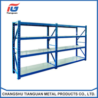 Customized Medium Duty metal pallet warehouse rack and shelf warehouse shelving rack