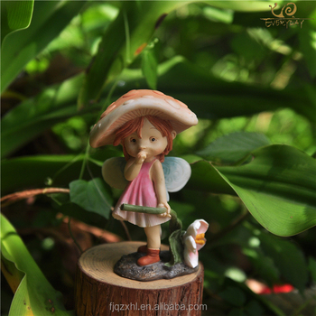 Wholesale Art Minds Crafts Cheap Small Baby Girl Souvenir Gift Items Resin Nativity Pixie Fairy Figurines