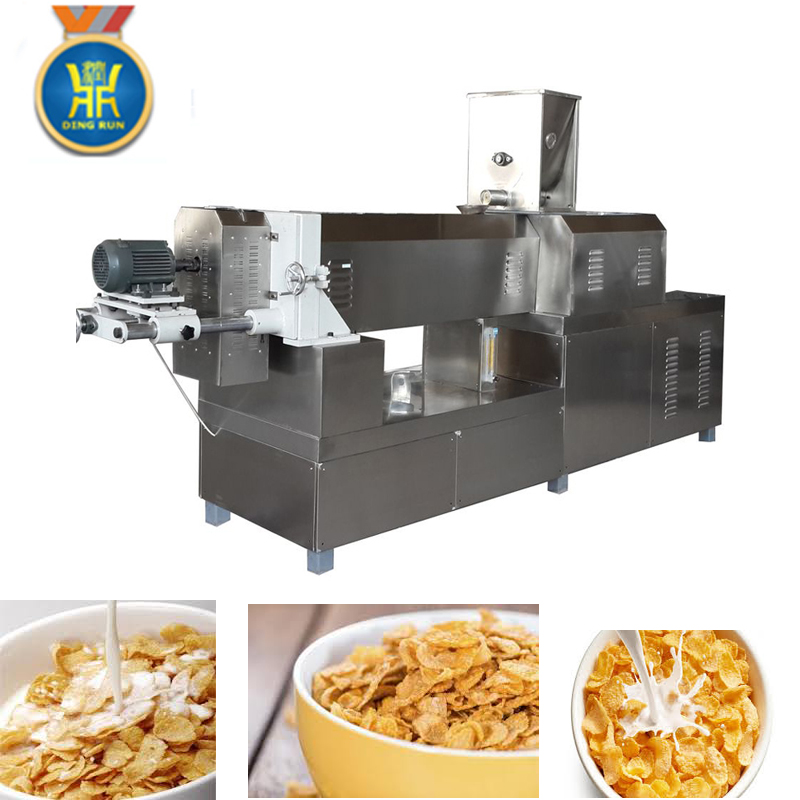 kelloggs puffed corn flakes sanck machine in China