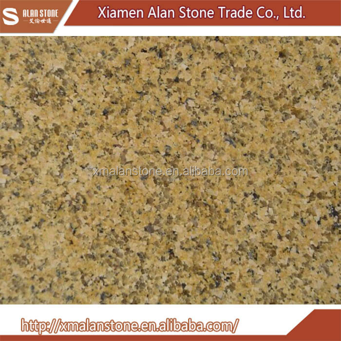 Polished Wholesale China rustic yellow granite