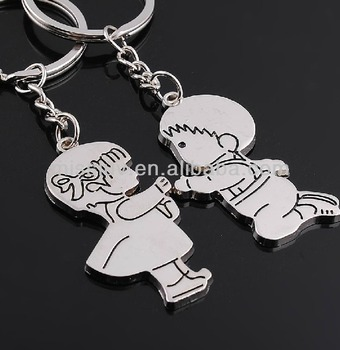 Boy And Girl Keychain Kneel For Love Key Chain Marriage Keychain