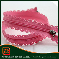 lemo Close-End nylon polyester zippers and slider