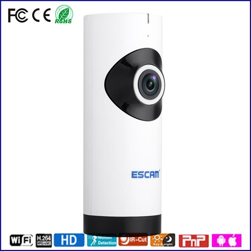indoor wireless wifi hd ip security camera 1.0mp p2p security 180 degree all in title network camera