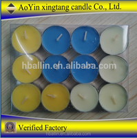 Wholesale Wedding And Romantic Event colorful Tea Light Candle
