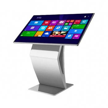 High Brightness 32 Inch Self Service Multi Touch Screen Kiosk