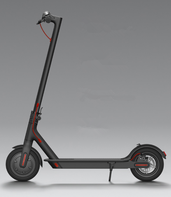 The Latest Aluminium Alloy Material 2 Colors Electric Scooter Adult For M365 Mijia, Black/white