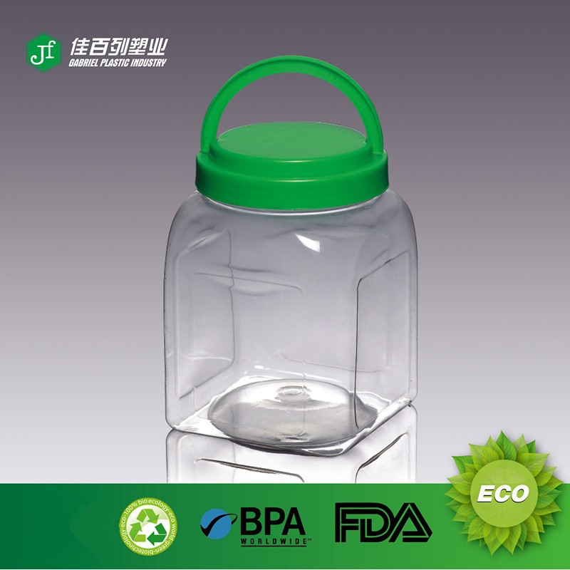 Clear Wide Mouth Used PET Bottles