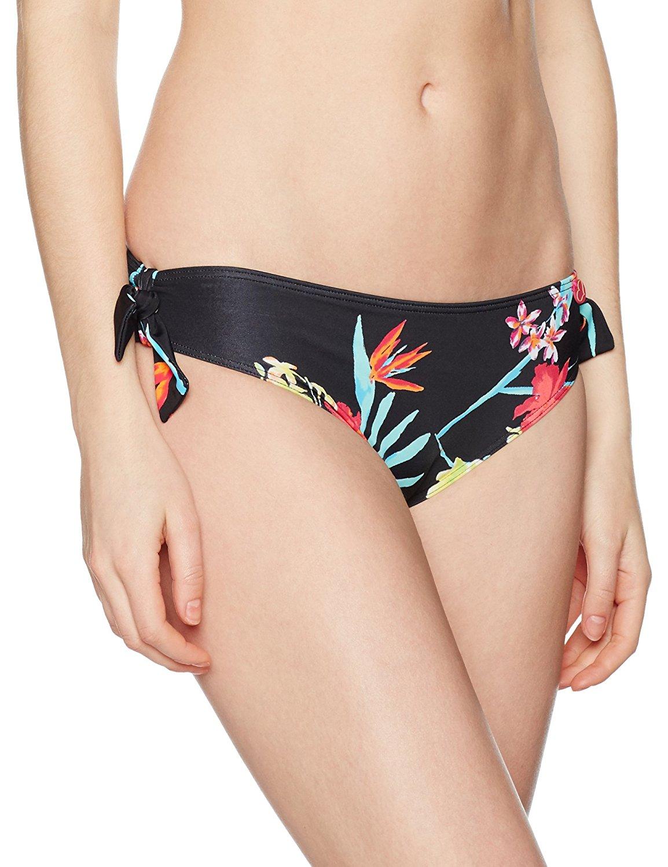 21dd33a71ef21 Get Quotations · Lepel Swimwear Tropics Low Rise Bikini Pant 72170 Black  Print