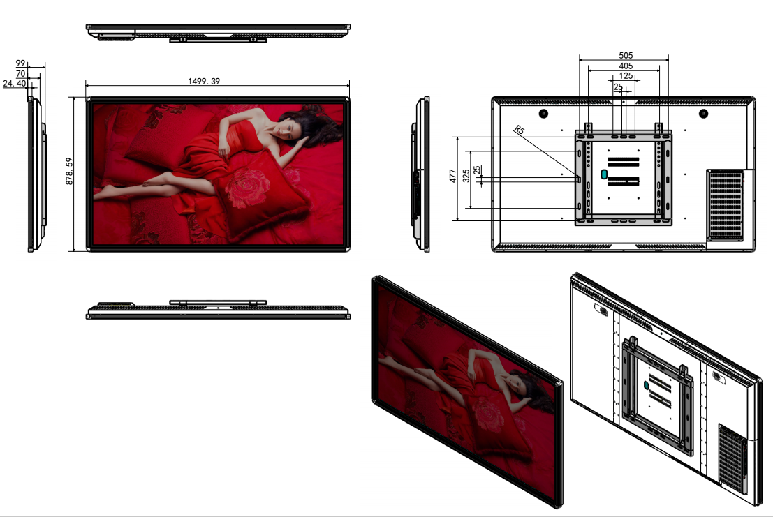 65inch Touch LCD (Android)