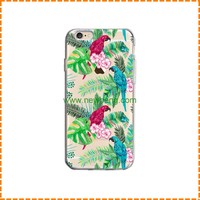 New Style Painting Palm Trees Cactus Sunflowers Plant tpu phone case for Iphone 7 plus