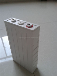Hot selling Electrical equipment 3.2v 100ah recharegable lifepo4 lithium car battery