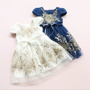 bbc71f961ac0 E0093A 2017 New one year baby party dresses Cute latest children dress  designs Free Inspection