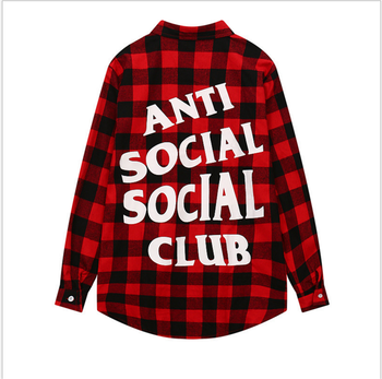 High Quality Fashion Sublimation Custom Mens Plaid Flannel Shirt