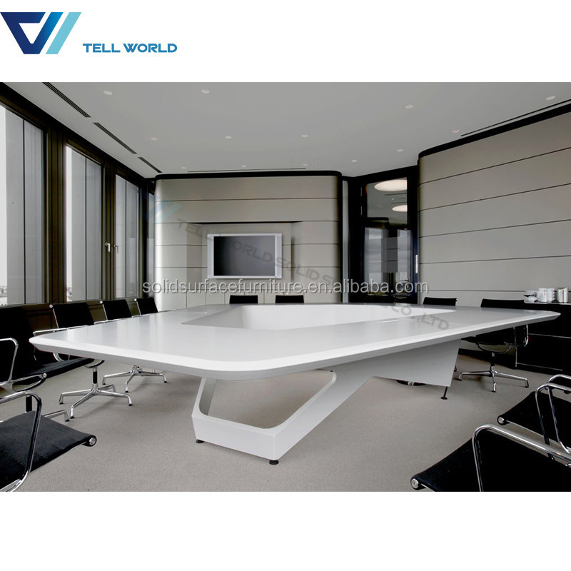 Workstation Furniture Marble Top Movable Conference Table Buy - White marble conference table