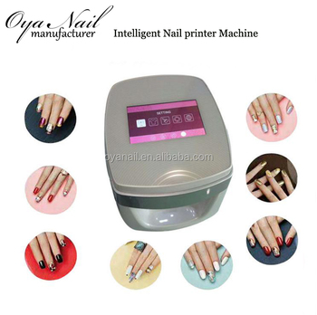 New Design Multi Function Portable Colorful Nail Printing Machine