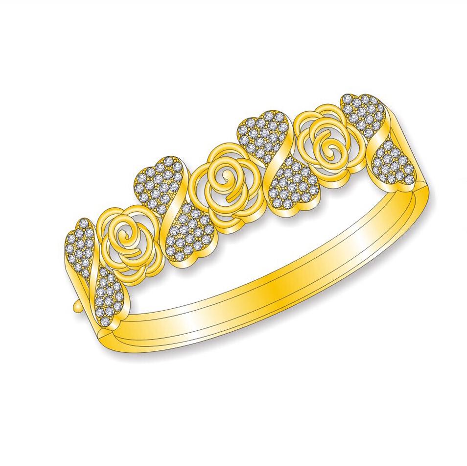 Latest Design Girls Gold Bangles, Latest Design Girls Gold Bangles ...
