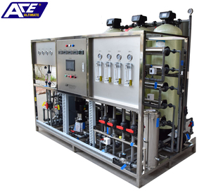 Reverse osmosis and Mixed bed pure water system water treatment equipment