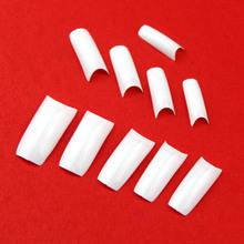 500 pcs cobertura completa dicas falsas unhas Art branco preto francês acrílico 12 cores Nail francês falso dicas para Diy Nail Art decoração