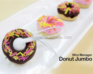 Creative Gift Donut Earphone Cable Winder, Wire Manager