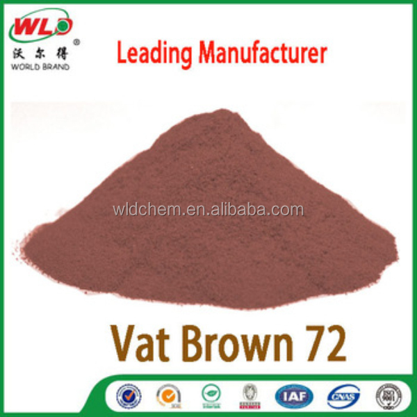 China wld brand chemical vat dye Brown GG