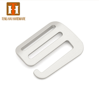 1.5 inch 38mm anodic aluminium G hook Strong Adjustable Buckles