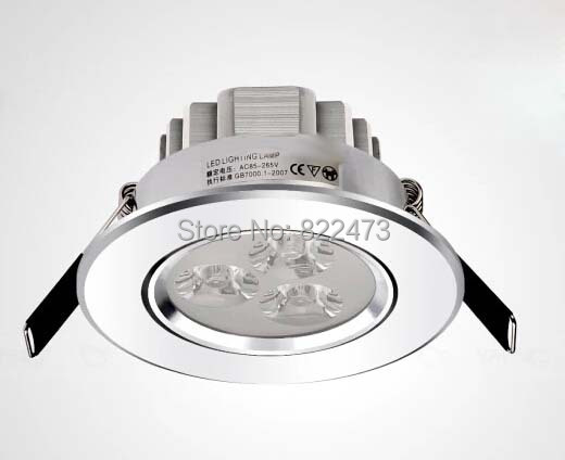 2 Year Warranty Epistar 3W Led Celling Light / 3W Led Celling Lamp Down Light CE & RoHS