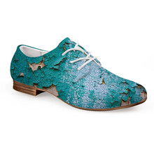 <span class=keywords><strong>Donne</strong></span> Classic Low Top Flats Lace Up Scarpe Oxford Pattini di Vestito Scarpe Brogue