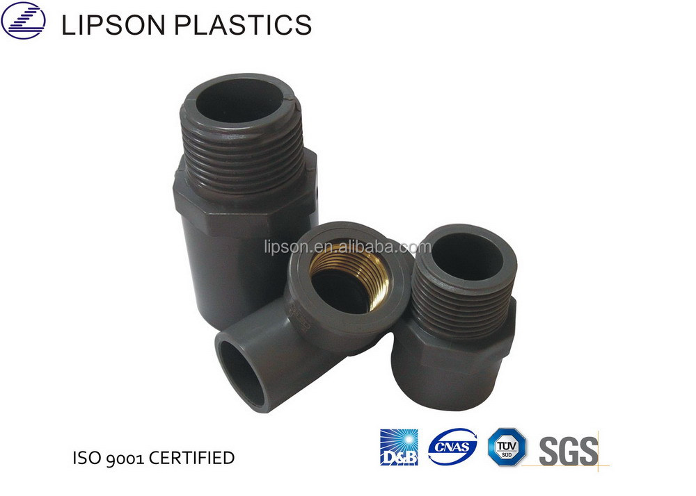 PVCPressure Pipe Fitting BS Threaded Female Socket/Coupling with Copper