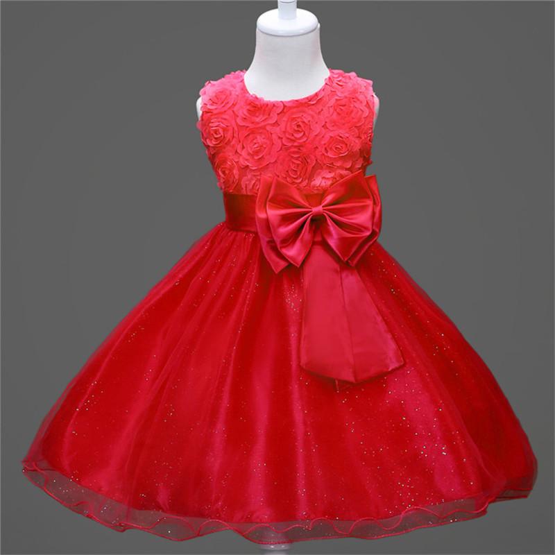 Venta de vestidos infantiles para fiesta