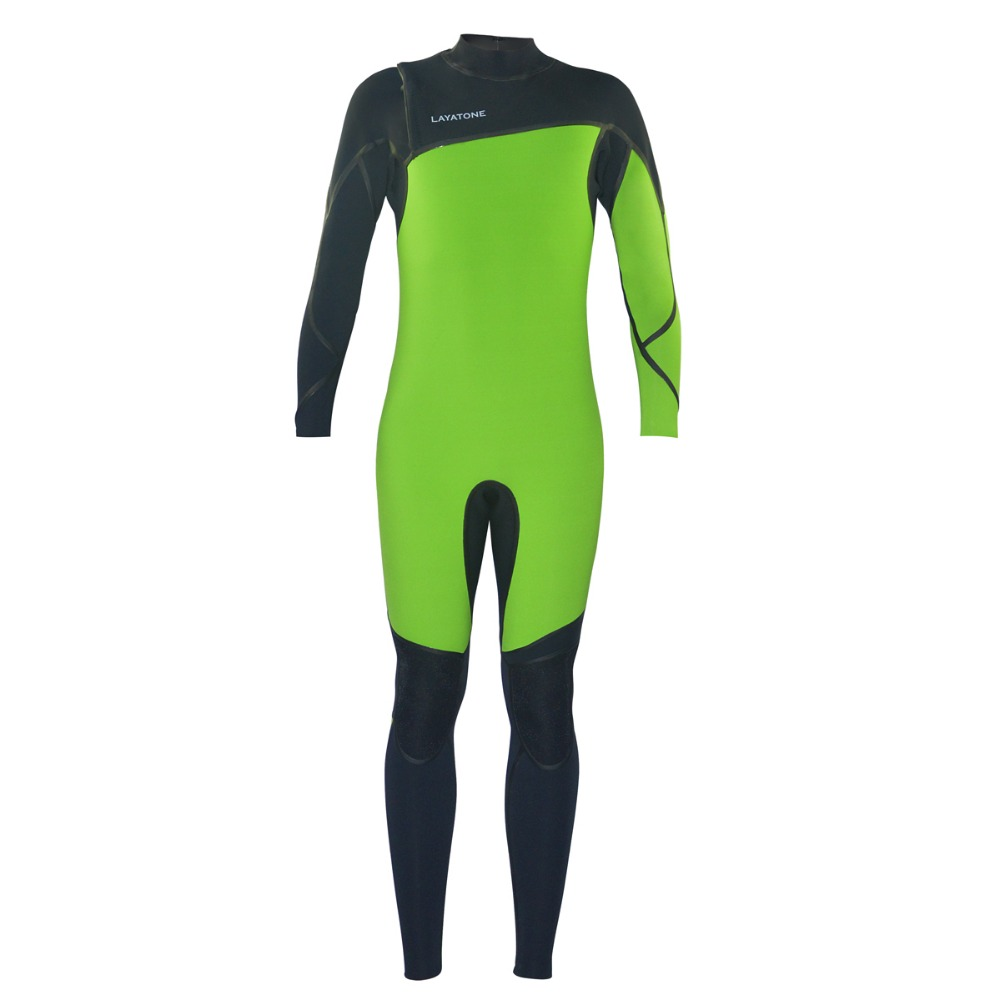 3/2mm high elastic neoprene full body men surfing wetsuit