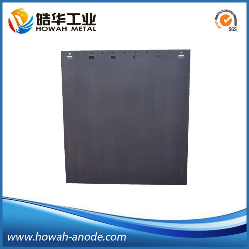 mixed metal oxide electric anode for chlor alkali plant