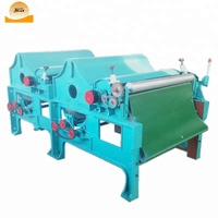Four roller Fabric cotton opener machine / cotton waste tearing machine