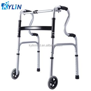exercise walkers with wheel for the disabled aluminum KL963L