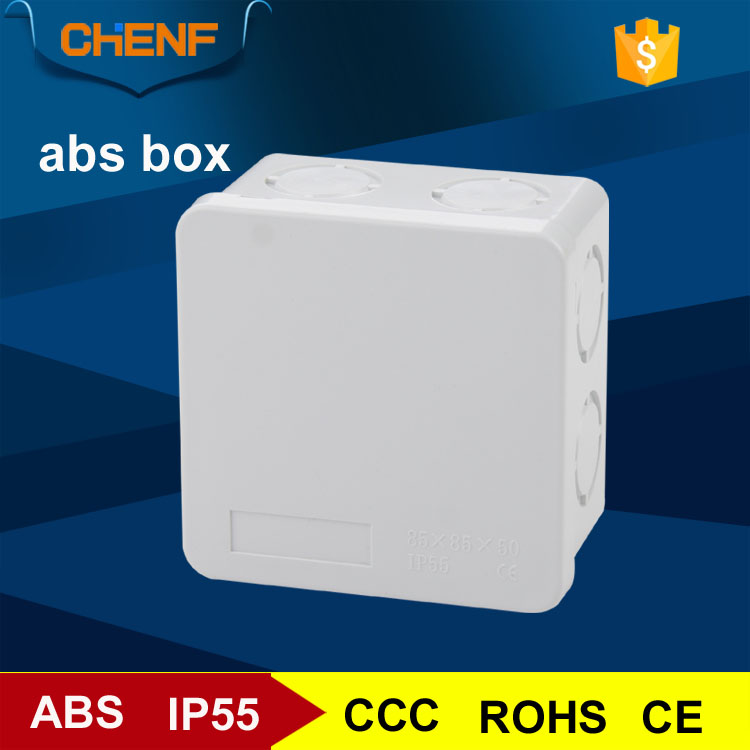 abs material gray cover dustproof sealed box plastic box for <strong>electronics</strong>