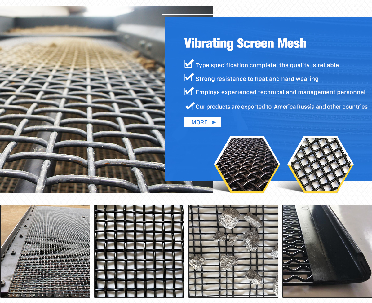 Anping Huahaiyuan Wire Mesh Co., Ltd. - Vibrating Screen Mesh ...
