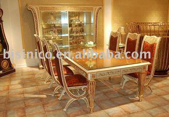 Luxury U0026 Classical Dining Room Furniture Set, Soild Wood, Hand Carved, MOQ: