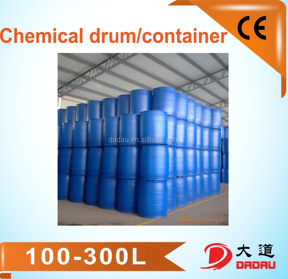 HDPE blue plastic container 200 litre blue plastic drum 55 gallon HDPE plastic drums for storage