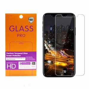 2019 New Phone Accessories 9H Premium Tempered Glass Screen Protector For Iphone XI /11 Xs Transparent