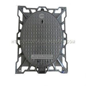 Good Reputation Factory Price Manhole Cover Ventilated